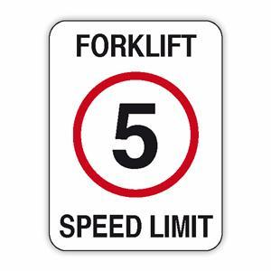 forklift speed limits