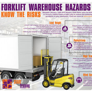 forklift warehouse hazards
